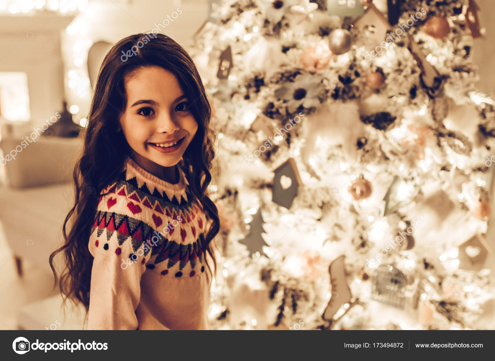 Girl On New Year S Eve Stock Photo C 4pmphoto Gmail Com 173494872