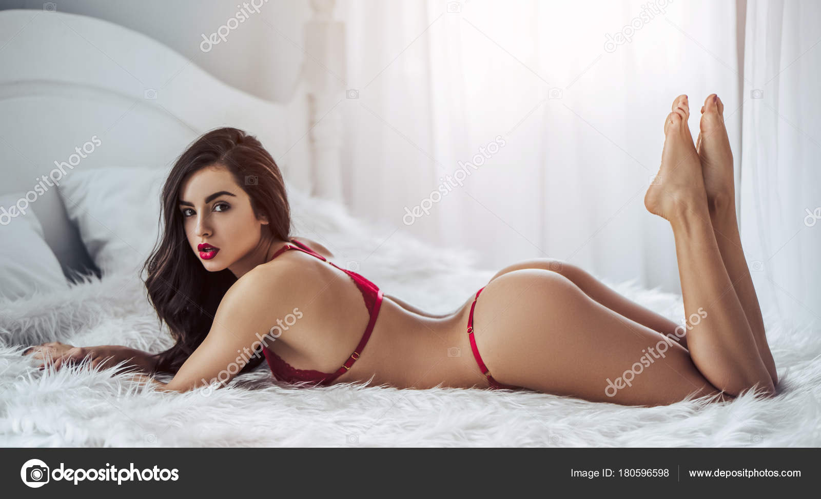 Sexy Woman In Bed Stock Photo C 4pmphoto Gmail Com 180596598