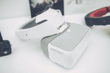 Modern devices in quadcopter store