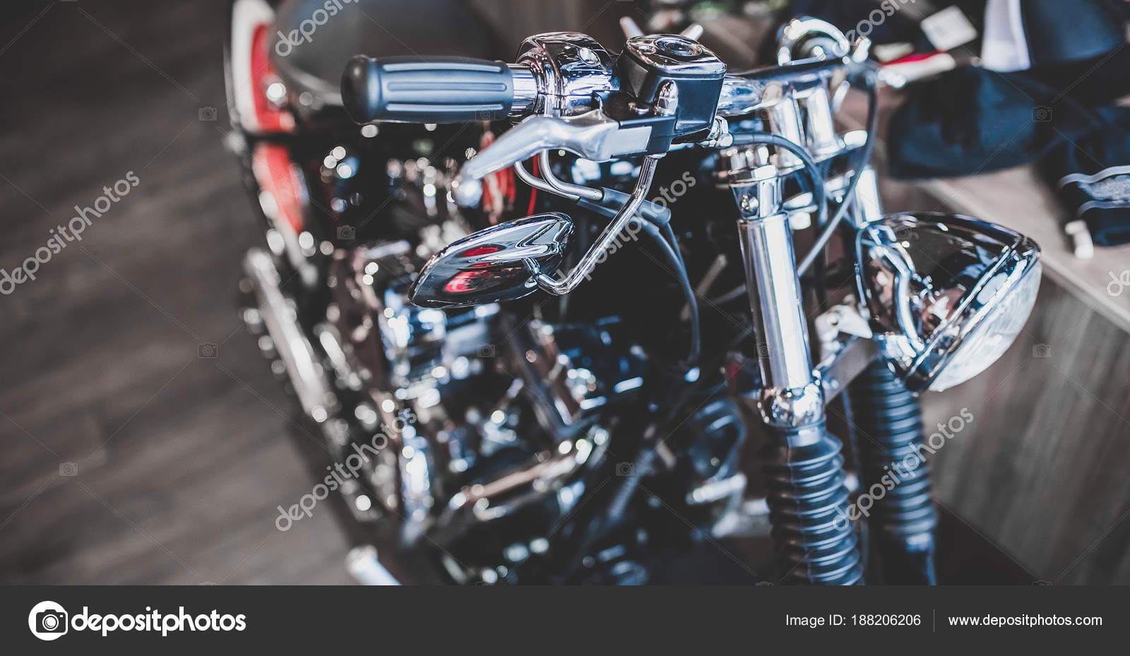 Modern motorcycle shop — Stock Photo © 4pmphoto@gmail com