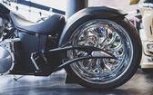 Fotografie Moderní motocykl obchod