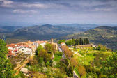 Staré středomořského města Motovun