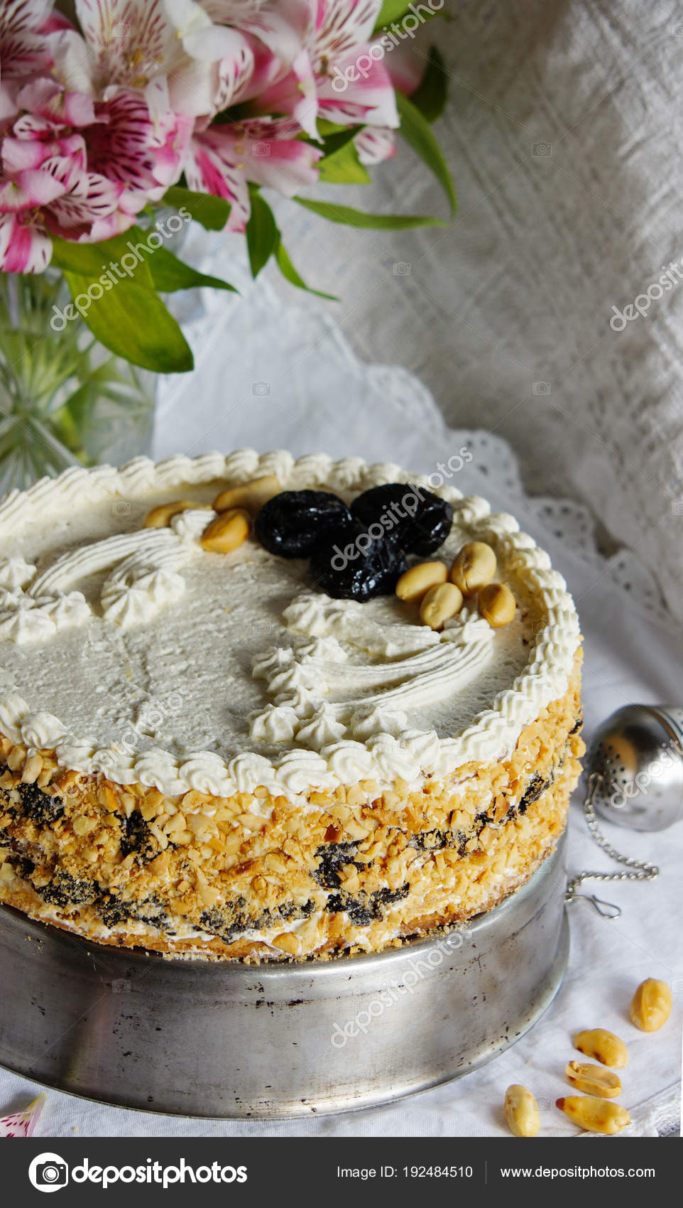 Kuchen Mit Quark Creme Vanille Kasekuchen Aus Blatterteig Mit