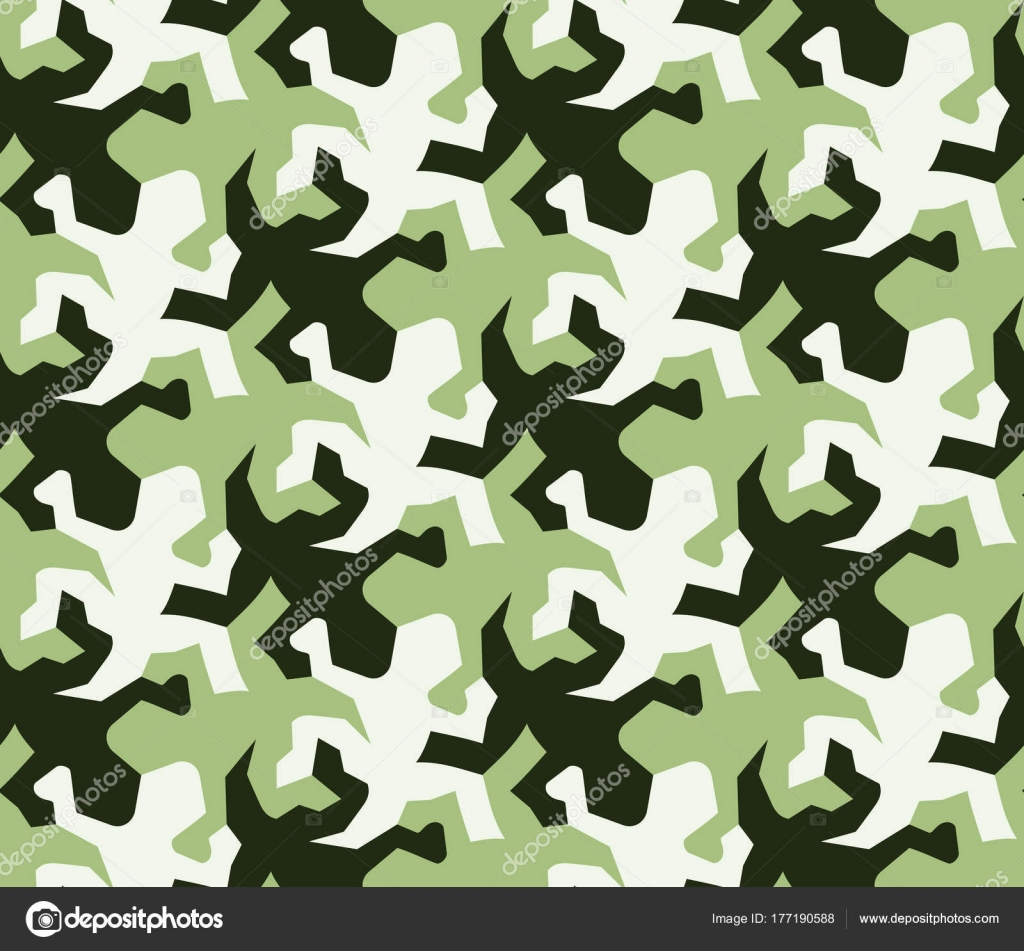 Seamless Pattern Of Lizards Tessellation Stock Vector