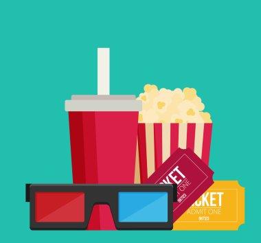 cinema, movie concept design