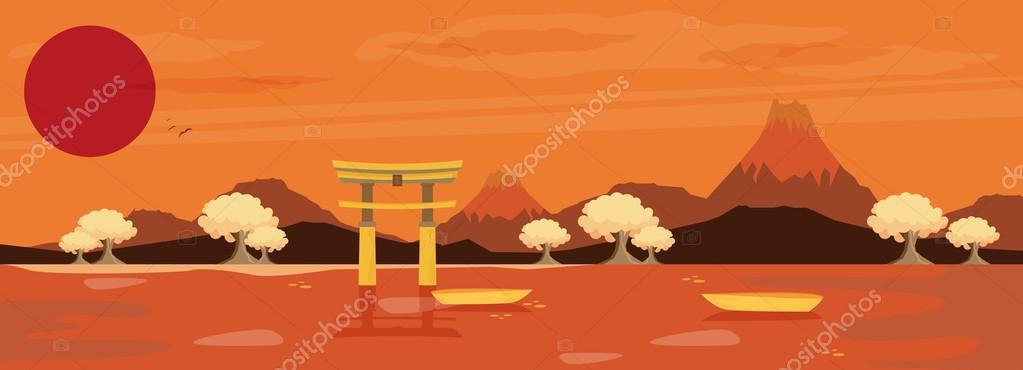 Japan nature landscape