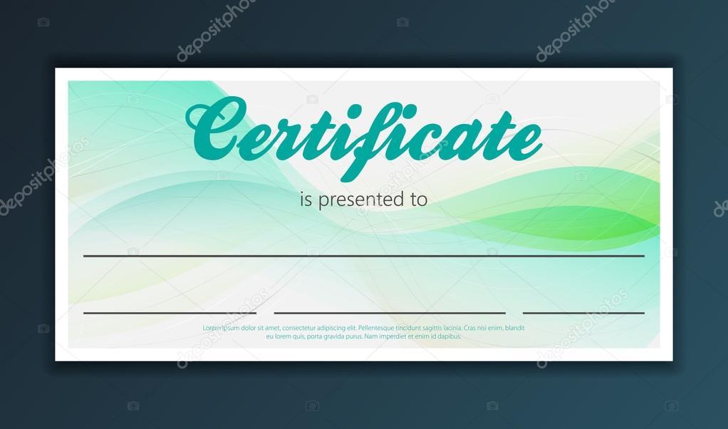 Certificate Design Template Stock Vector Mix3r 125753594