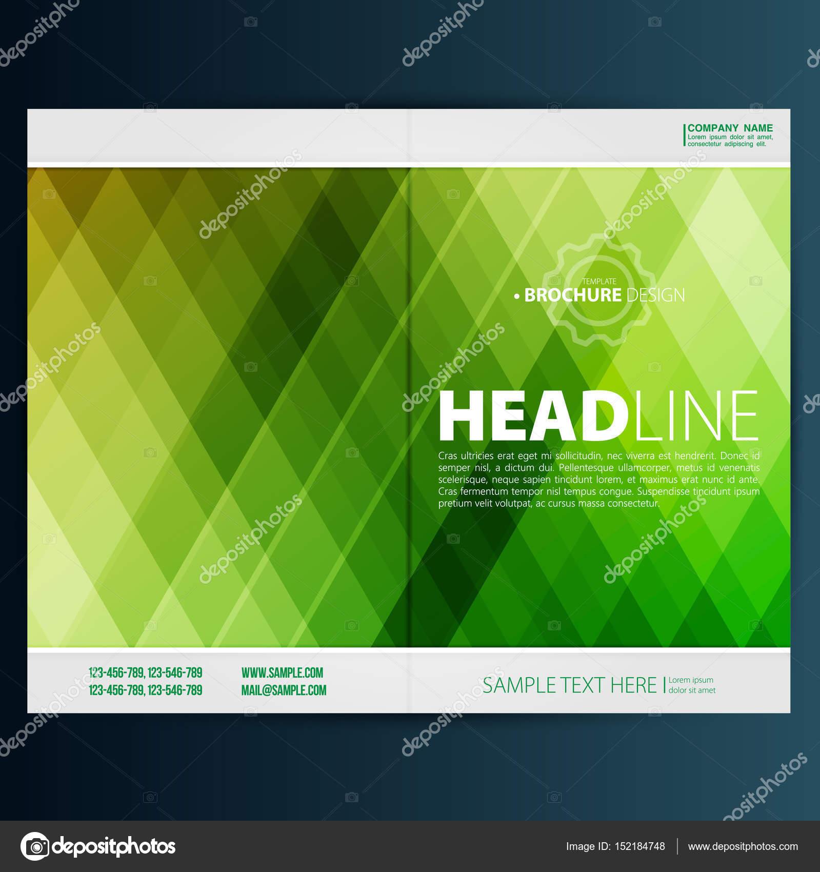 plantilla de diseño folleto flyer — Vector de stock © Mix3r #152184748