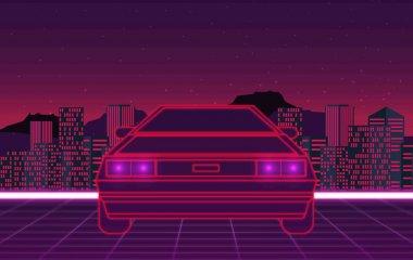 Retro future, 80s style Sci-Fi
