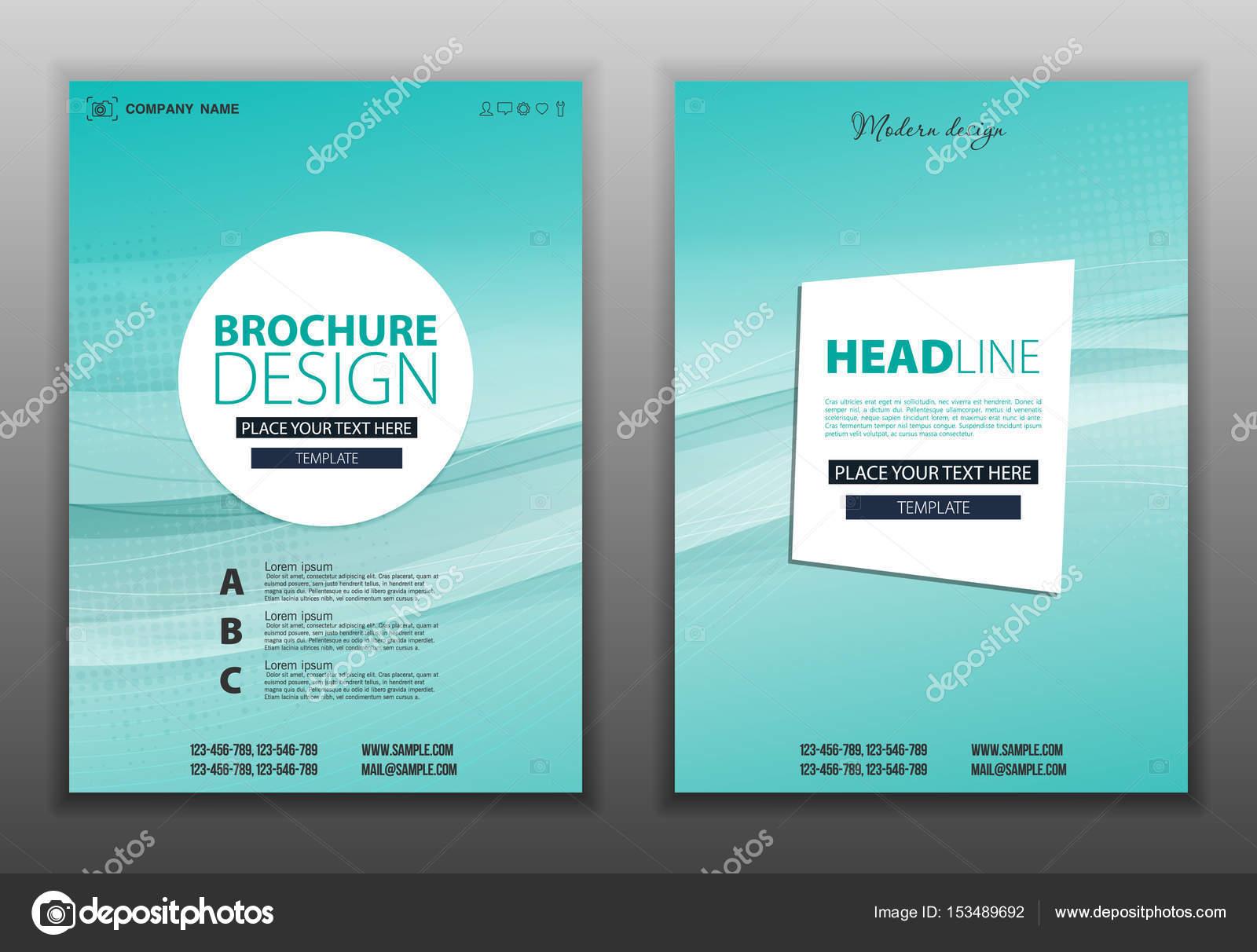 design de brochura flyer layout vetores de stock mix3r 153489692