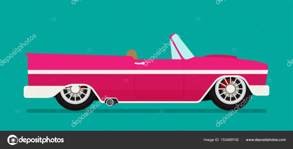 Old school car. — Stock Vector © Mix3r #153489742