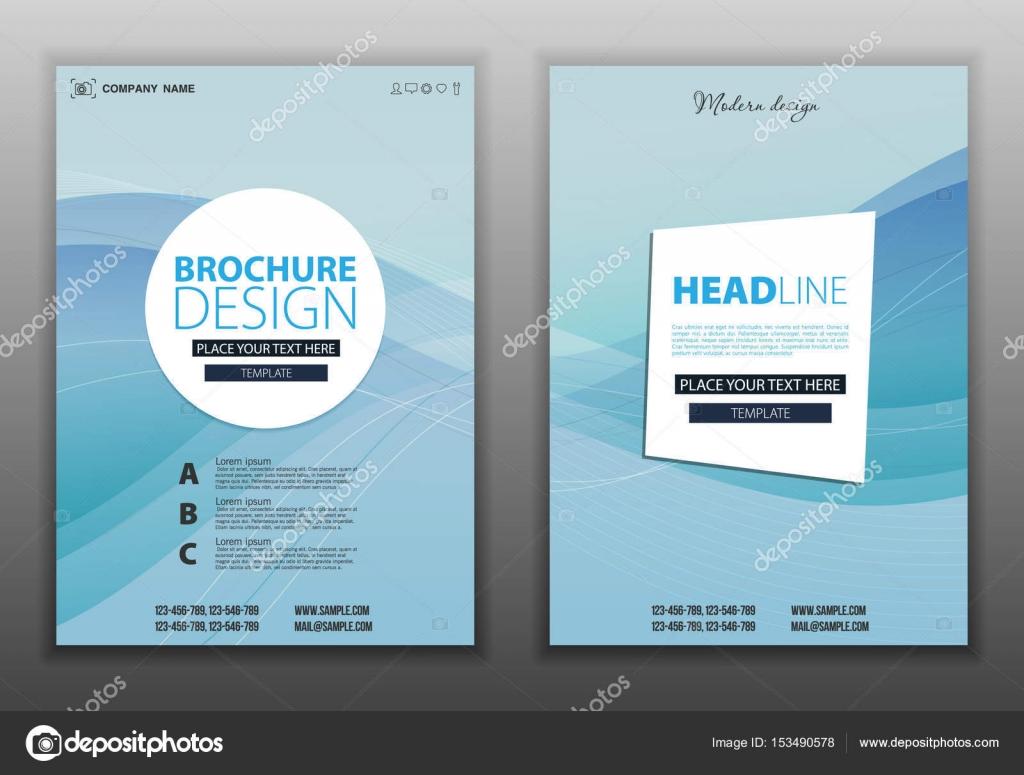 brochure flyer design layout stock vector mix3r 153490578