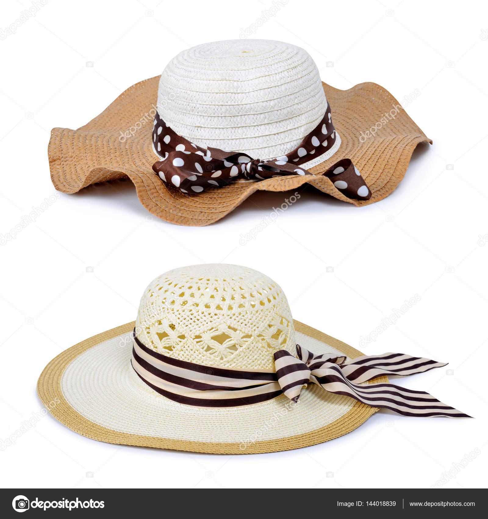 Womans nyáron szalma kalap — Stock Fotó © vencav  144018839 82d3c6a9c3