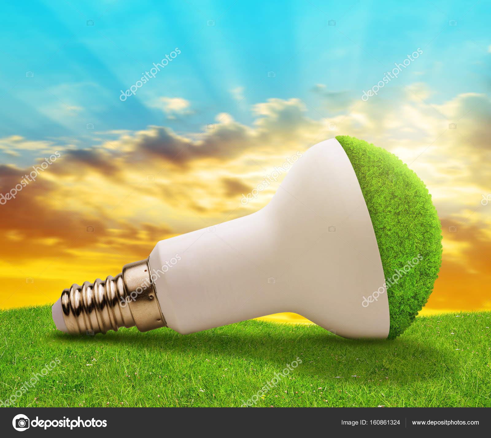 Eco Du Soleil— En Au Ampoule Coucher Photographie Vencav Led Herbe TK13lJcF