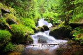 vodopád na horské říčky