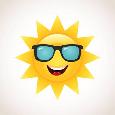 "Картина, постер, плакат, фотообои ""значок улыбающегося солнца"", артикул 129128982"