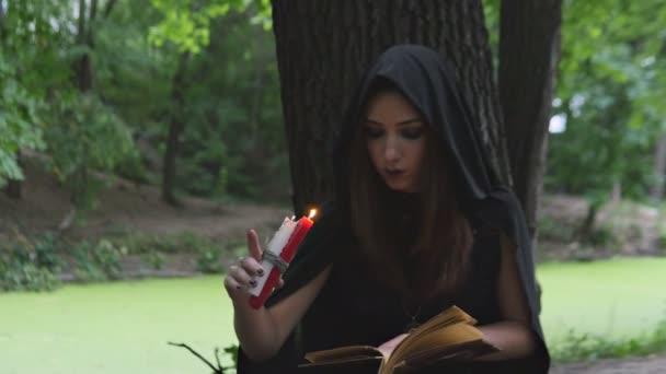 Das Mädchen in der Witchs Stiefel
