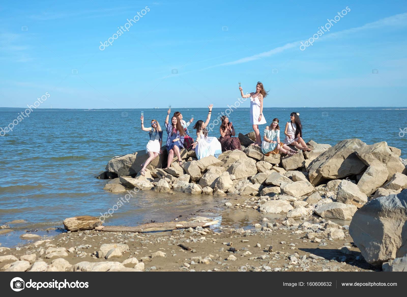 Лето, девушки, пляж и так далее. » Поржать. ру 13