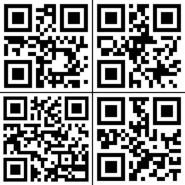 QR codes collection
