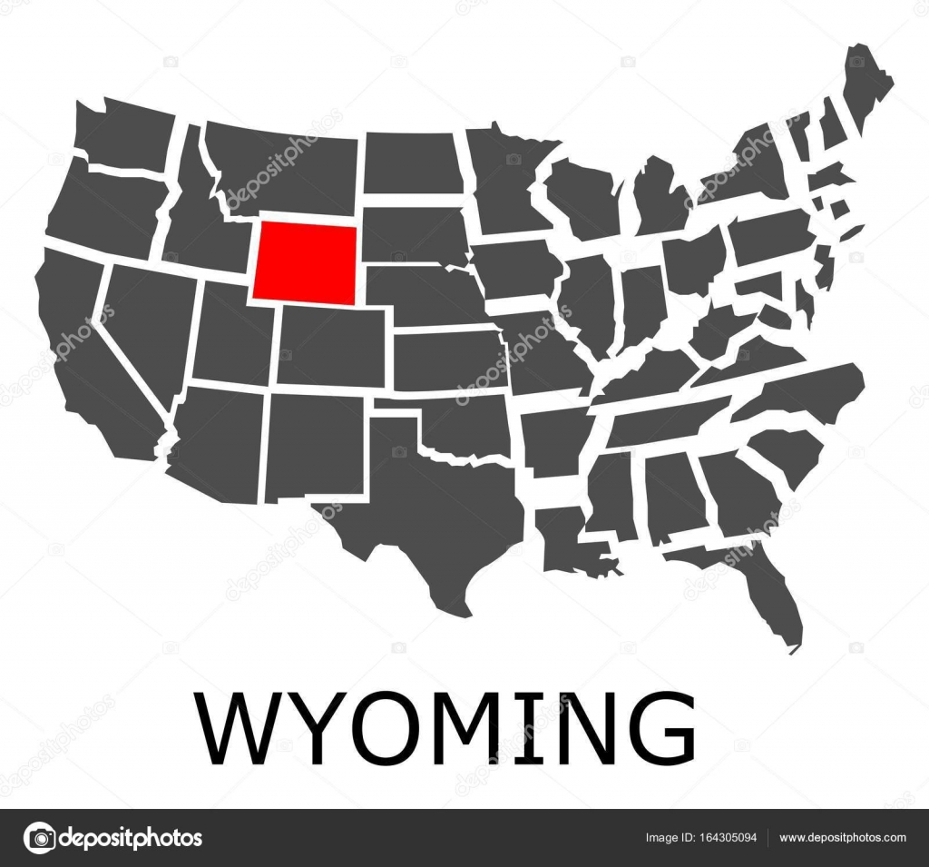 on s in wyoming map