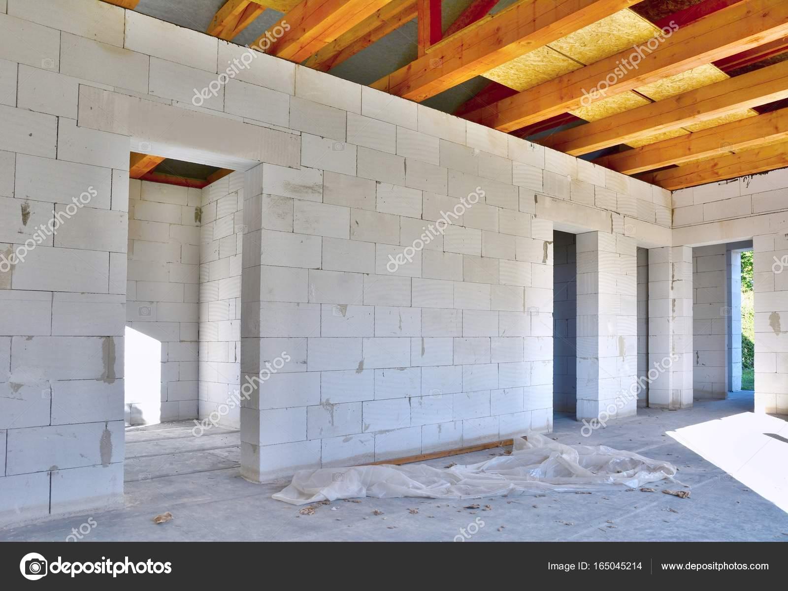 High Quality Neues Haus Konstruktion Interieur U2014 Stockfoto