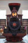 Balitmore, Md - 15 April: B O Nr. 117 Thatcher Perkins Baltimore-Ohio Railroad 4-6-0 Perkins Ten Wheeler am 15. April 2017