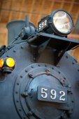 Balitmore, Md - 15 April: Cnj Nr. 592 Central Railroad of New Jersey 4-4-2 Atlantic Camelback am 15. April 2017