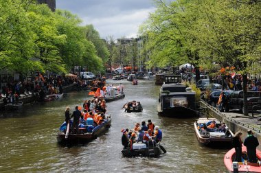 Queensday Celebrations in Amsterdam