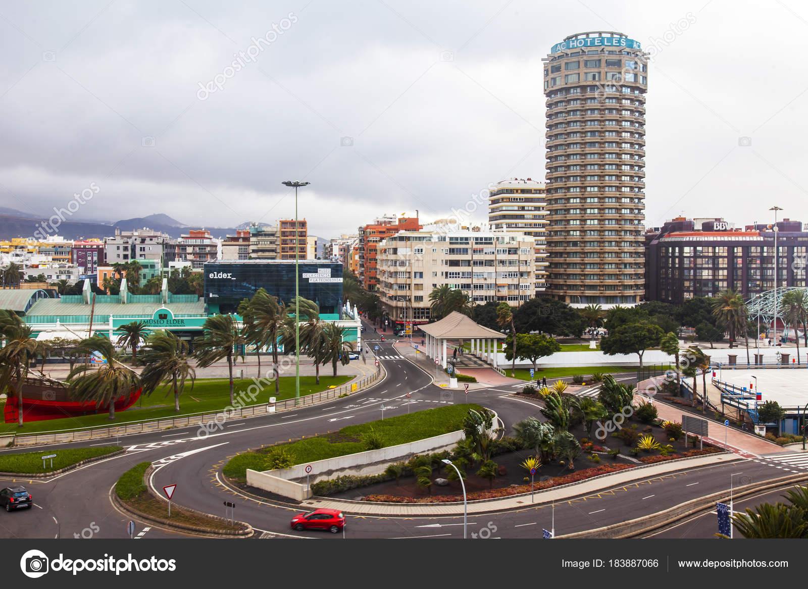 Las Palmas Gran Canaria España Enero 2018 Los Edificios