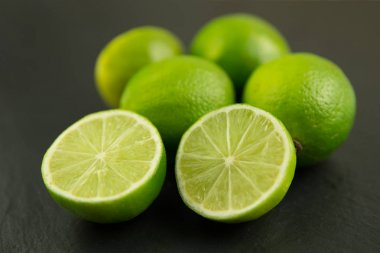 Healthy lime fruits