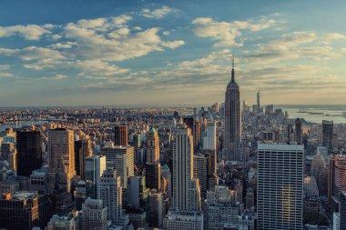 Modern Manhattan skyline