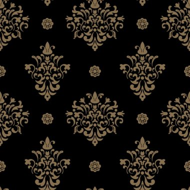Royal seamless pattern baroque