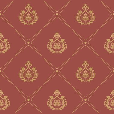 Pattern in baroque style