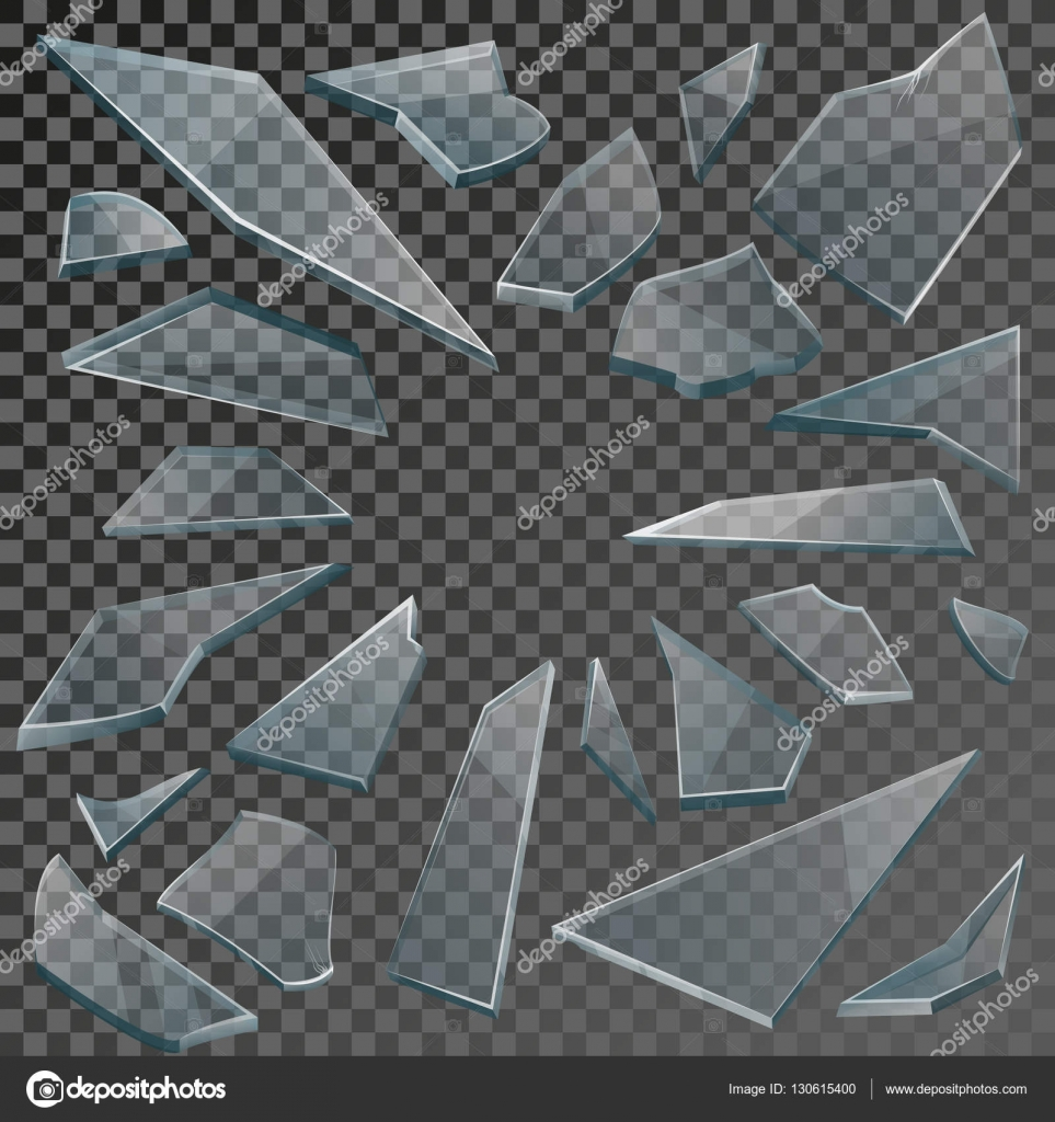Broken Glass Texture Vector