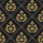 Fotografie Victorian regal pattern seamless baroque
