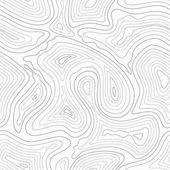 Topografické vrstevnice vektorové mapy bezešvé vzor