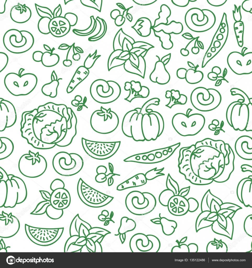 vegetables diet food background vector raw vegetable