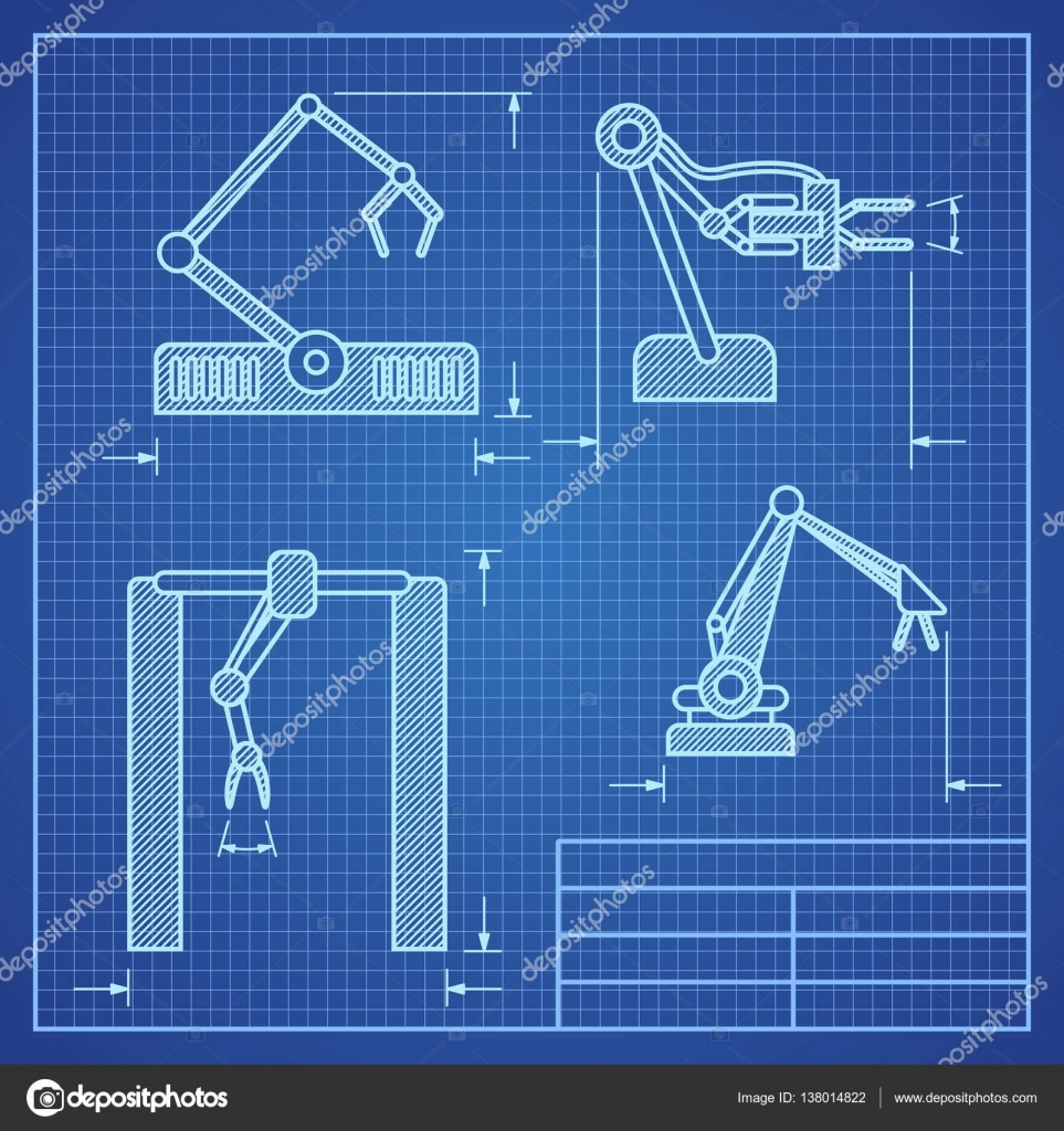 machine blueprint