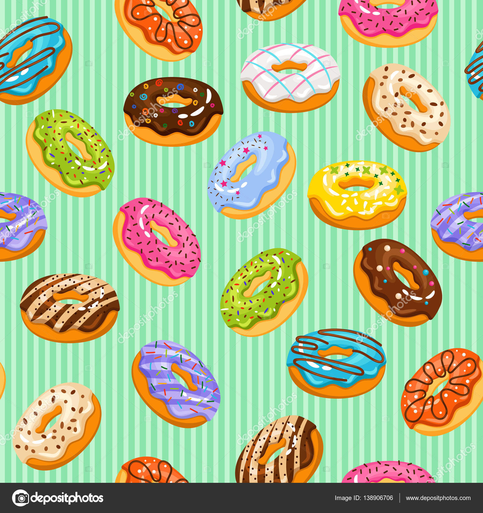 Birthday Donut Clipart