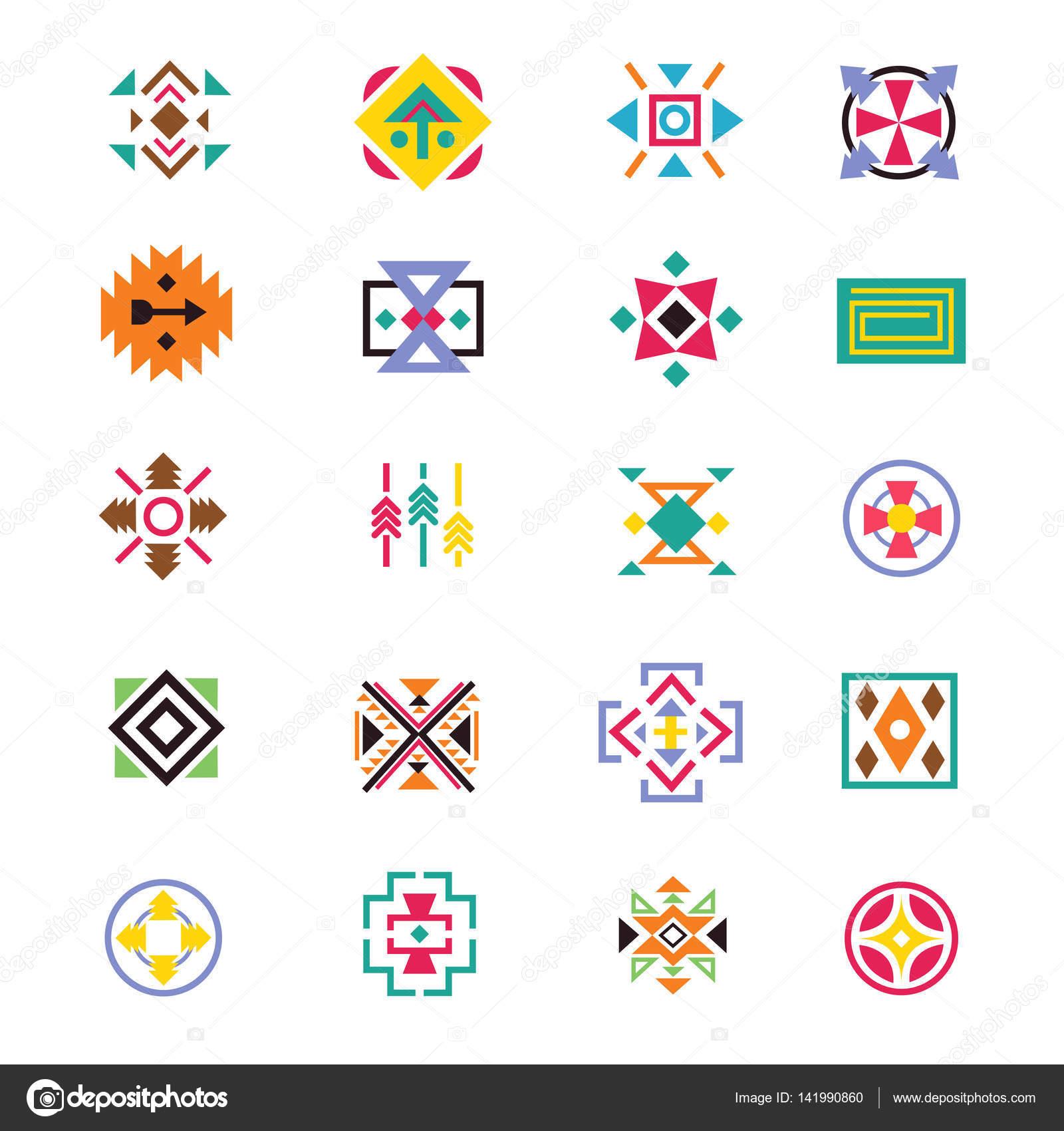 aztekischen ethnizität stil zeichen amerikanische