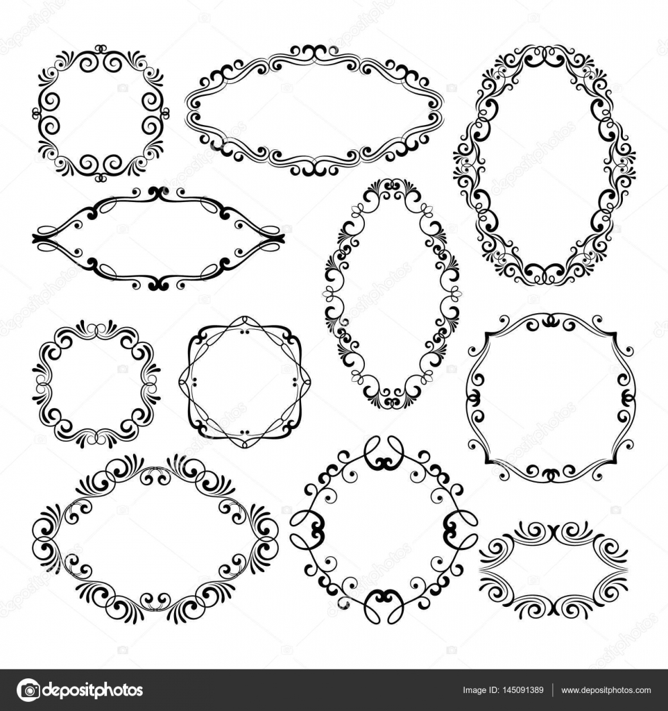 Filigree Picture Frames Gallery - Craft Decoration Ideas