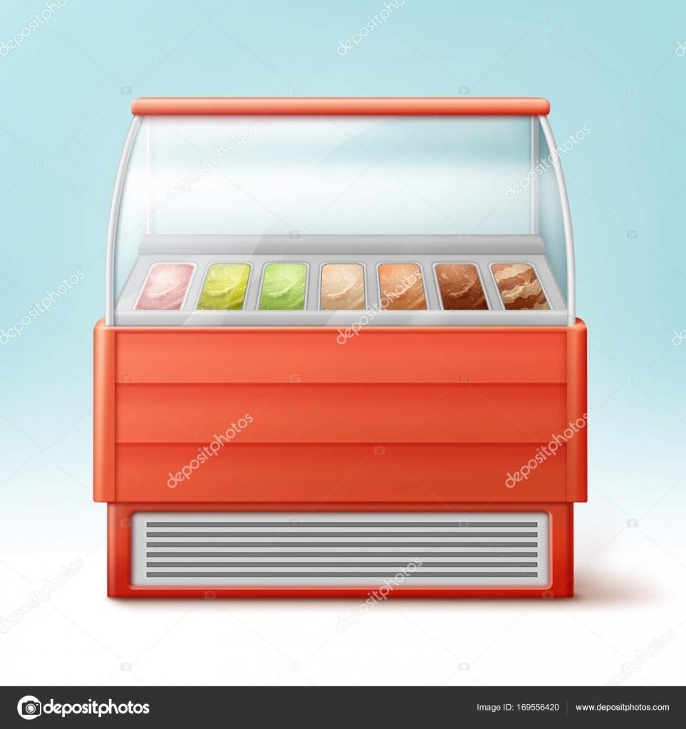 Eiskühlschrank — Stockvektor © MSSA #169556420