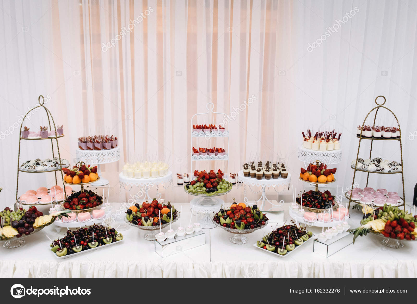 BANQUET Sweet Table With Desserts Delicious Wedding Reception Candy Bar Photo By Bondart