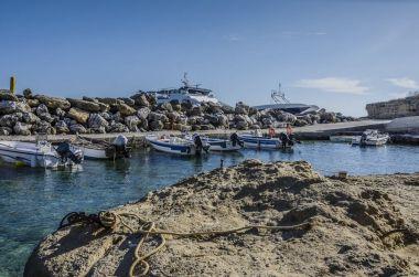 small port of Pessada south of the island of Kefalonia