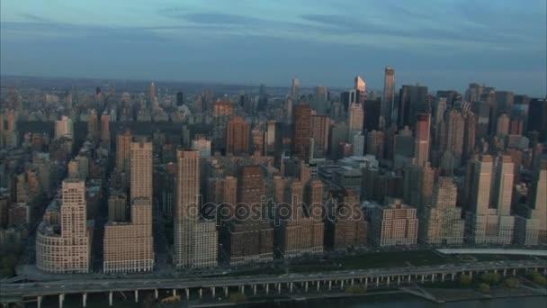 légi magas toronyházak, new york city
