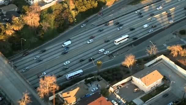 hellen Autobahn Luftbild