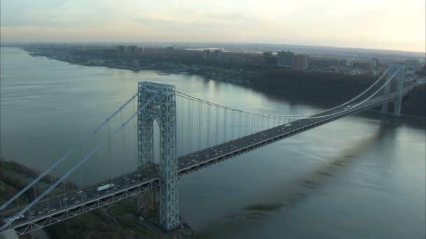 George washington bridge s dlouhodobého hlediska Hudson