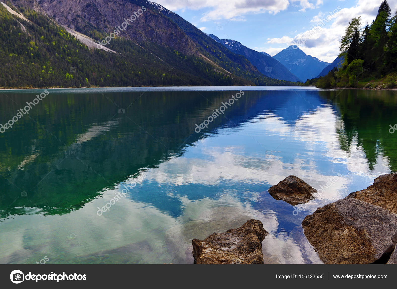 Обои австрия, alps, тироль, austria, tirol, Lake plansee, озеро планзее. Пейзажи foto 16