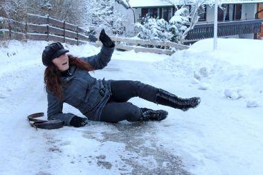 Accident danger in winter