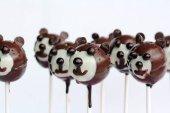 Pop dorty čokoládové medvědi - čokolády a dort medvěd